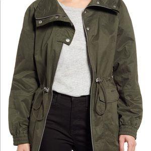 Levi's Anorak chinch waist rain jacket XS